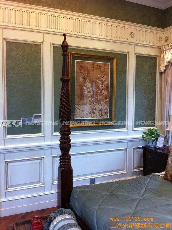 供应实木背景墙 欧式护墙板(图)