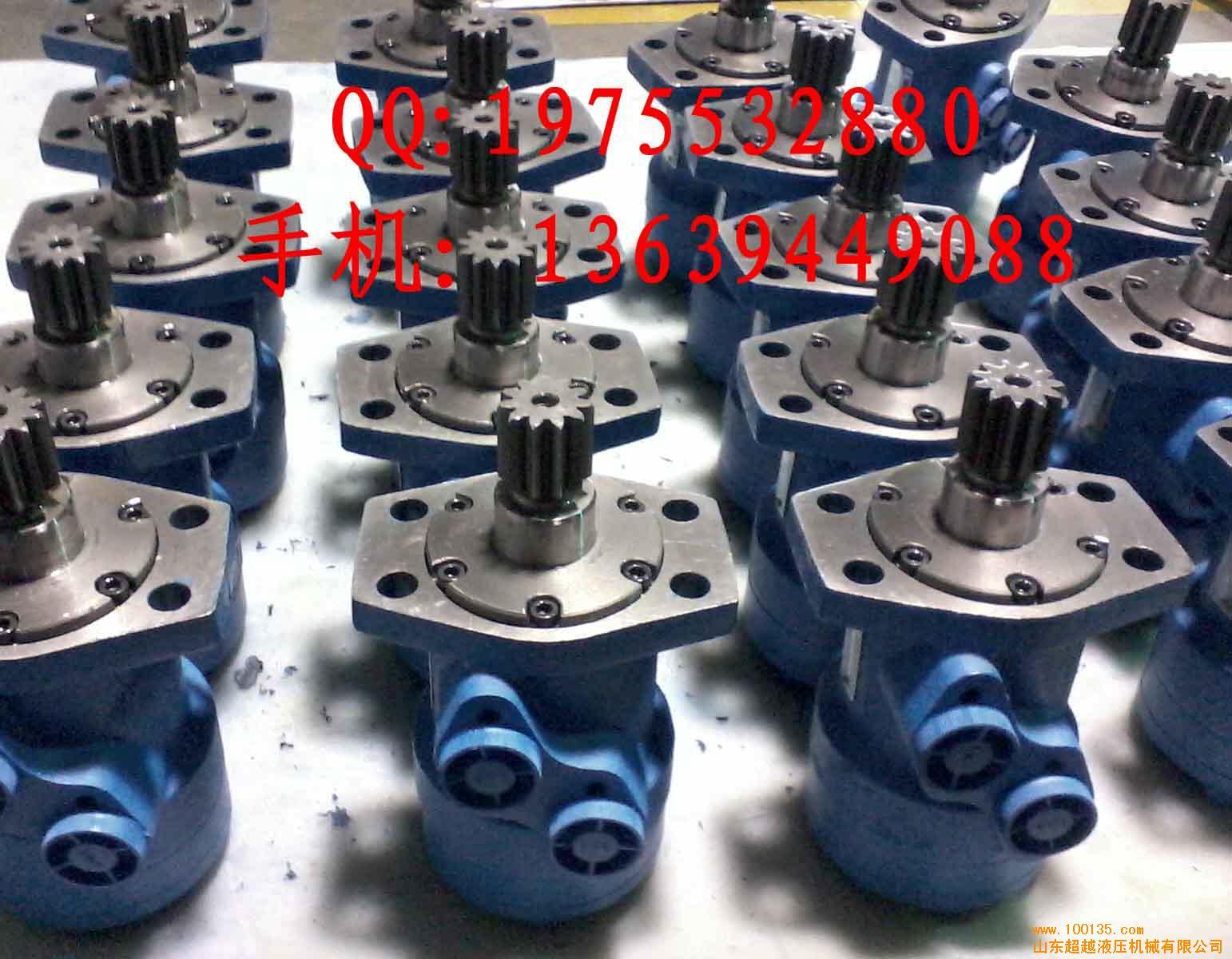 摆线液压马达◎配油轴一体成型和镶柱定转子结构设计