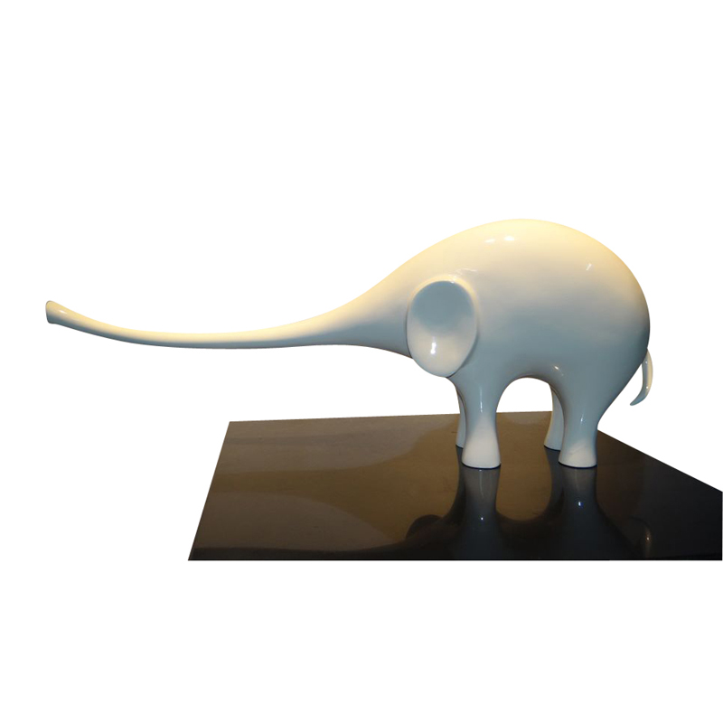 树脂雕塑厂_供应玄关案头小象小摆件深圳树脂雕塑厂图价