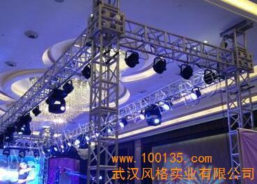 专业舞台灯光租赁 风格实业供 武汉风格实业有限公司是一家集工程设计