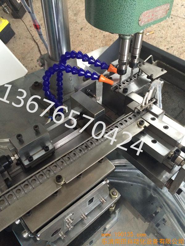 供应接线盒铁扣自动攻丝机 自动丝攻机 六角螺母自动