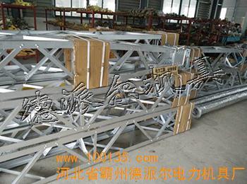 lrb-11铝镁合金格构式抱杆 人字立塔设备生产制造厂家