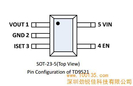 供应td9521 usb限流ic,usb限流芯片,usb限流方案,3a_usb限流ic(图)