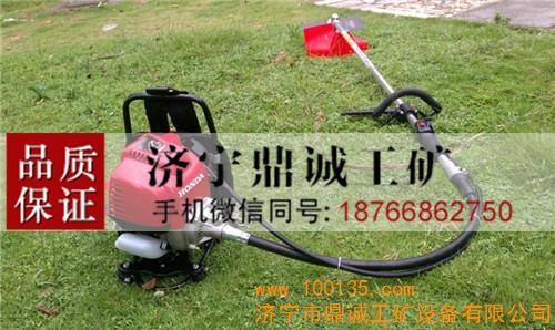 便携式打草机 灌木水稻收割机发动机型号:gx35本田汽油机发动机型式